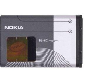 New OEM Nokia BL-6C Battery for Nokia 2865i, 6236i, 2128i, 6265i, 6256i, 3120, 6255i, 6236i, 6235i, 6155i, 6165i, 6019i, 6016i, 6015i, 3155i, 2128i, 2126i, 2125i, 2116i, 2115i, N-Gage QD, 7205 and Nokia Shorty 2115i OW_BL6C_POL