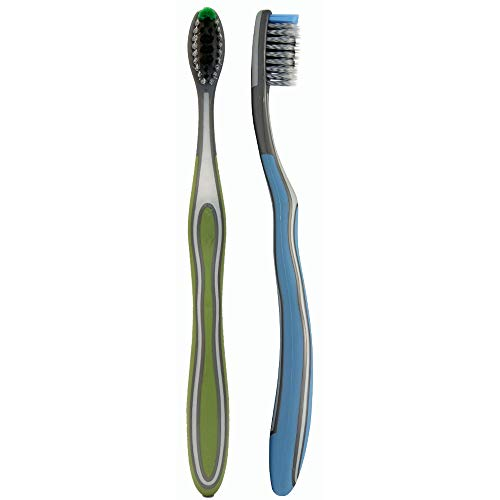 (REACH Charcoal Clean Soft Toothbrush, Soft, 2 Count)