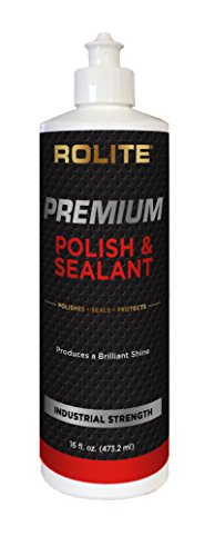 Rolite Premium Polish & Sealant (16oz) One-Step, Wax Free, No Harsh Abrasives, No Acids/Solvents, Safe for ALL Automotive Finishes Domestic & Foreign