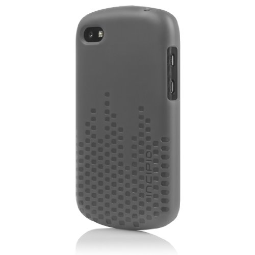 Incipio BB-1021 Frequency Case for BlackBerry Q10 - 1 Pack - Retail Packaging - Translucent Mercury