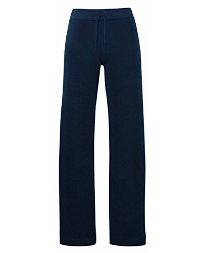 Nuevo De Mujer Señora Mujer Ajuste Pantalones Joggers Jogging Chándal Entrenamiento Pantalones Footing Profundo Azul Marino