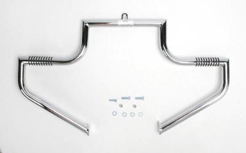 - LINDBY 102-1/09 Chrome Front Linbar Highway Bar (Fits 1997-2016 Harley-Davidson Flh Touring Models)
