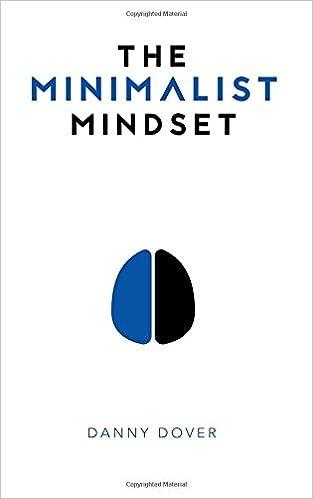 """Résultat de recherche d'images pour """"The minimalist mindset"""""""