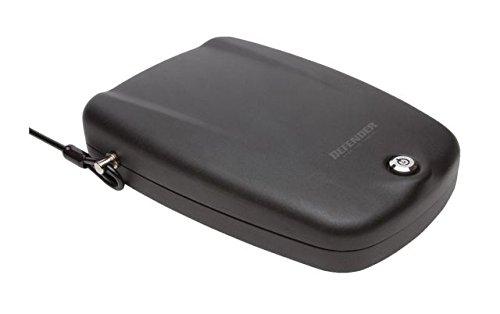 Winchester Handgun (Winchester Safes Defender by Keylock Handgun Safe, Flat Black, 1 gun capacity,)