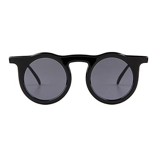 Gris de Kurt Men Vintage Women sol Gafas Lente redondas 1 Gafas sol Negro de Inspired Marco Cobain ADEWU qxUXZ8wBZ