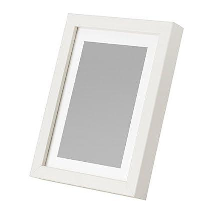 IKEA LIMHALL marco blanco; (13 x 18 cm)