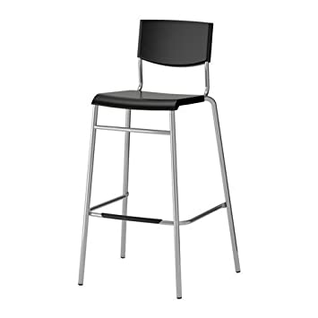 Ikea Stig Counter Stool 74 Cm Seat Height Bar Stool With Footrest