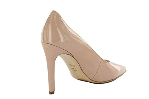Högl Highheels Pumps spitz nude Lackleder