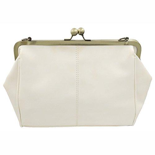 Totes Purse Diamonds Chains Handbag Pu Abuyall Appliques Retro Ladies Bag Minimalist Kiss Leather Satchel Crossbag A2 Bag Lock Shoulder z467x