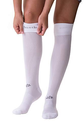 Pants Core Maroon - RIP-IT Classic Softball Over The Knee Sock (White, Medium/Large)