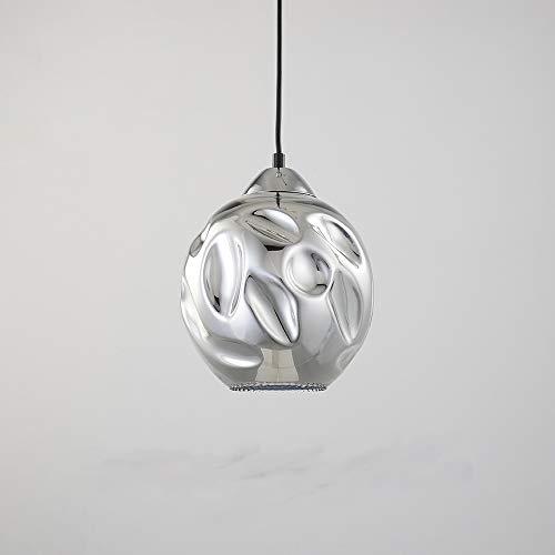 Lava Lamp Chrome (Lava Globe Pendant Light Fixture Suitable for Kitchen, Bar and Lounge (Chrome))