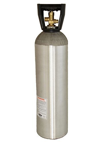 20 lb CO2 Tank New Aluminum CGA320 Homebrew by Beverage Elements by Beverage Elements