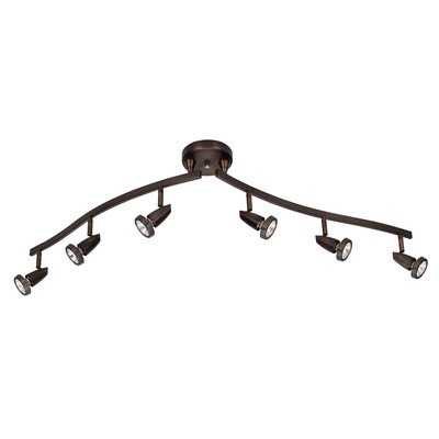 Mirage Semi Flush Mount with Articulating Arms