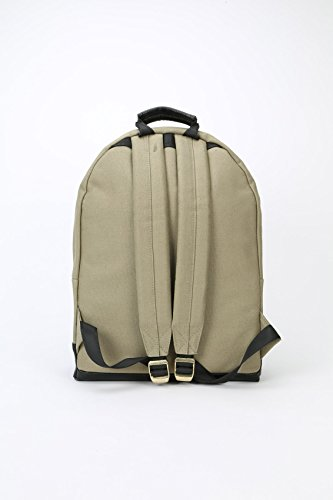 Black L Backpack Khaki Canvas Mi Khaki Casual Tumbled Black 41 Pac 17 cm Daypack tzqqPZ6w