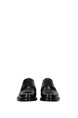 Negro cepillado 2wr cuero Zapato Shannon de con cordones Church's 4W0nqqw86A