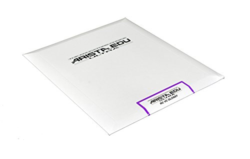 Arista EDU Ultra VC RC Black & White Photographic Paper, Glossy 8x10, 25 Sheets - Resin Coated Paper