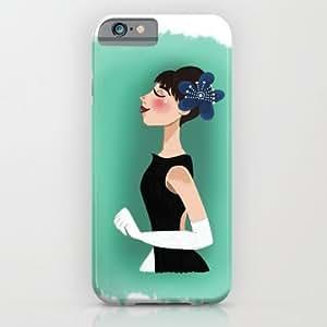 Society6 - Audrey Hepburn iPhone 6 Case by Carotoki Art And Love