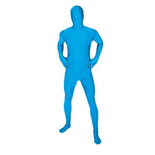 (Original Morphsuit Fancy Dress Costume ,Turquoise,)