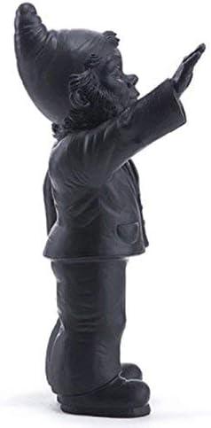 contre le fachisme en 2008 couleur OR /_ Cette oeuvre nest pas une apologie du fachisme lartiste la cr/ée pour une exposition Statuette Nain Empoisonne by Ottmar Horl happening /_ Dimensions: 41 cm X 19 cm X 17 cm Editions Mu bien au contraire