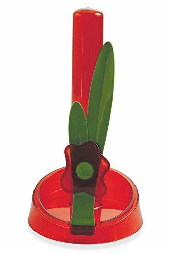 Galileo Casa Flower Portarotolo Rosso
