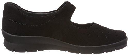 Zapatos Brogue Cordones 001 Semler de Xenia Negro Schwarz Mujer para qvIZw5