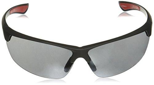 Sunglasses Black Wrap 75 Mm Par Foster Grant Men's XqtxwT6I