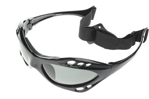 555c20ea6f G G Polarized Water Sport Sunglasses Surfing Kiteboarding Jetski (Black  Grey)