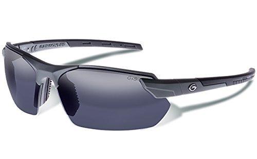 - Gargoyles (10700184.QTM) Vortex Safety Glasses, Matte Metallic Graphite