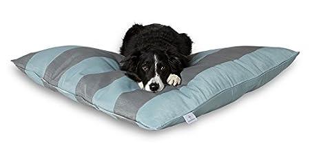 Darling Little Place Cama para Perros, 110 x 110 cm, Stone Stripes: Amazon.es: Productos para mascotas