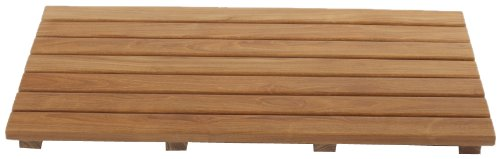 Arb Teak & Specialties Teak Shower Base Mat, 24 X 14 Inch (Plantation Tree Teak)