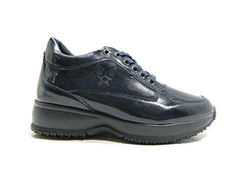 Blu Gunny Fondo Donna Avirex 1181 Alto Scarpe Sneakers aTOWgqw
