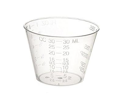 Medicine Cups (1oz) - Plastic Disposable Graduated Medicine Cups from PrimeMed