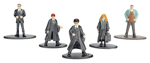Nano Metalfigs Harry Potter Die-Cast Mini Figures Set 1 (4 Old Year Ds Game For)