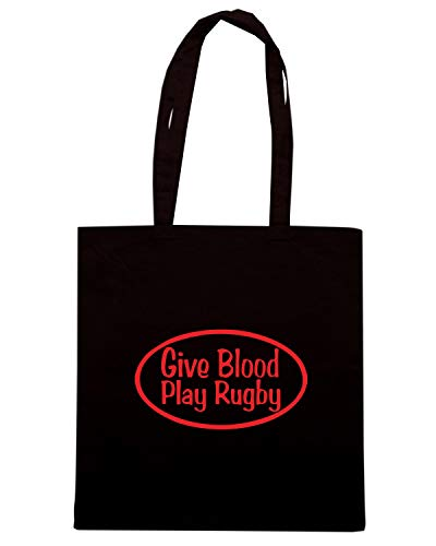 RUGBY PLAY Nera Shopper TRUG0119 Borsa Shirt Speed WZOqBxw4Yn