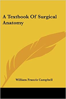 Book A Textbook Of Surgical Anatomy