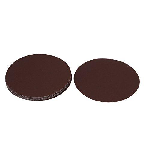 EbuyChX 6inch Dia Abrasive Sanding Sandpaper Sheet Disc 240 Grit 10 Pcs ()