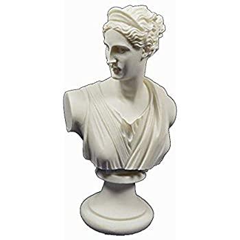 Artemis Sculpture Bust Diana Ancient Greek Goddess of Hunt Statue