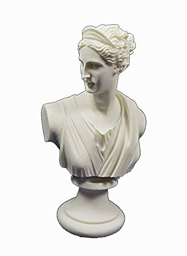 (Artemis Sculpture Bust Diana Ancient Greek Goddess of Hunt Statue)