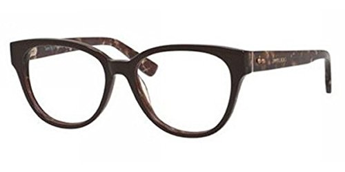 7a0c3a28fd JIMMY CHOO Women's Eyeglasses 53 Brown Spotted | Strabismus Minute