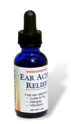 Naturecare Ear Ache Relief - Guaranteed Relief! Treats Swimmer's Ear
