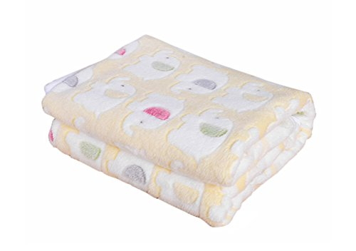 [Cyber Monday Freerun Pet Dog Cat Puppy Kitten Soft Blanket Warm Bed Mat Animal Figure Print Cushion - Yellow Elephant,] (Costume Design Online Classes)
