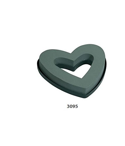 Oasis 9'' open heart floral foam, 2 pack