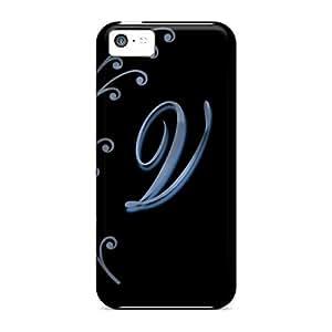 High Grade LatonyaSBlack Flexible Tpu Case For Iphone 5c - Vletter