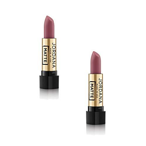 Jordana Matte Lipstick (Classic Nude, 2 Pack)