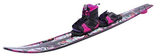 HO Sports 2019 Women EVO Water Skis 65 Inches with Women FreeMax Boot Art 5.5-9.5 (Best At Ski Boots 2019)