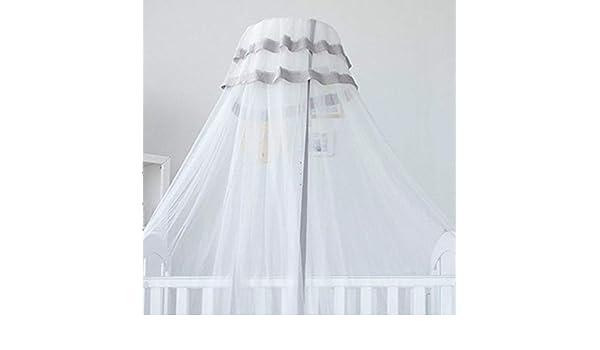 RenshenX Bebé niño Cuna Dosel,Mosquitera para Cuna, litera elevadora 5, Ajuste de 5 velocidades @ Gris,Decoración de la habitación para el bebé: Amazon.es: Hogar