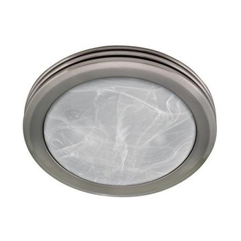 Hunter hr80204 harbor breeze brushed nickel bathroom fan with hunter hr80204 harbor breeze brushed nickel bathroom fan with light mozeypictures Image collections