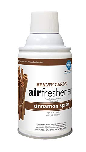 (Hospeco Hospeco Health Gards 07906 Cinnamon Metered Aerosol Air Freshener, 7 oz Can (Case of)