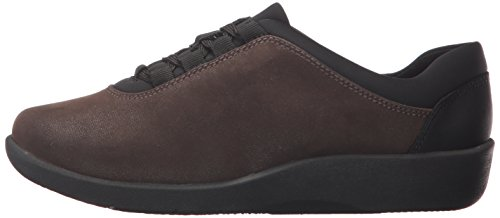 Shoe Walking Synthetic Pine 7 N CLARKS Sillian US Brown Women's ft4nx1YI
