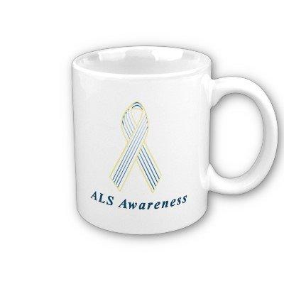 ALS Awareness Ribbon Coffee ()
